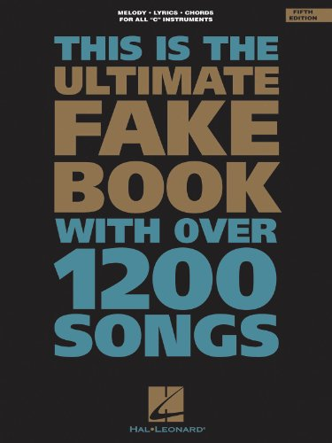 The Ultimate Fake Book - 5th Edition - C Edition