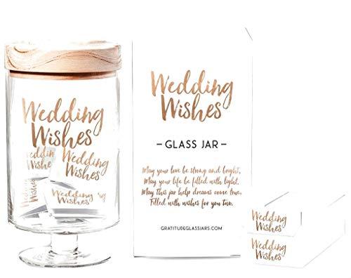 Gratitude Glass Jar Gratitude Glass Jar Wedding Wishes