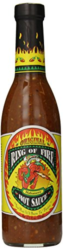 Ring Of Fire Original Habanero Hot Sauce, 12.5 Ounce