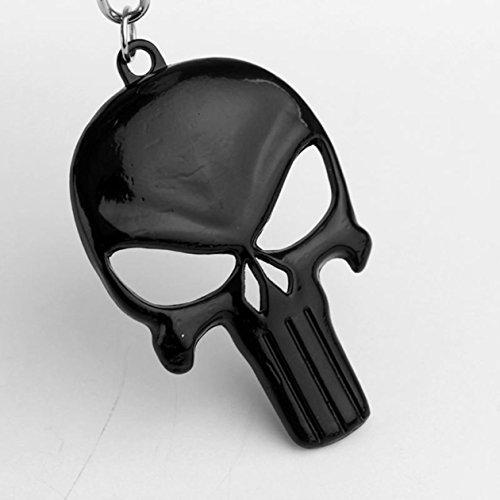 1 Pc Mini Pocket Punisher Skull Keychain Keyring Keyfob Bottle Opener Pendant Keys Chains Rings Tags Strap Wrist Exceptional Popular Cute Wristlet Utility Keyrings Tool Teen Women Girls Gift, Type-01