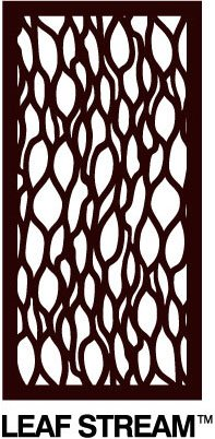 OUTDECO LeafStream Decorative Panel - 24 in. x 48 in. x 5/16 in. by OUTDECO