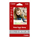 Canon 4 x 6 Inches Photo Paper Glossy, 50 Sheets (8649B001)