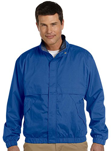 Price comparison product image Devon & Jones Men's Clubhouse Jacket, 3XL, TRUE ROYAL/NAVY