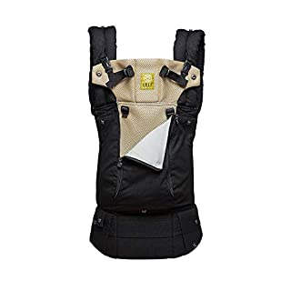 LÍLLÉbaby Complete All Seasons Six-Position 360° Ergonomic Baby and Child Carrier, Black/Camel