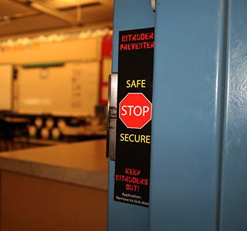 10 Pack - Full Size Lockdown Magnetic Strips for School