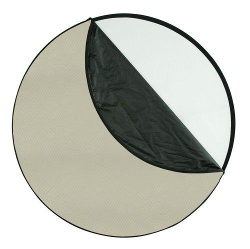 "Westcott 50"" 5-in-1 Sunlight reflector kit - Diffusion, Silver, White, Sunlight, Black"