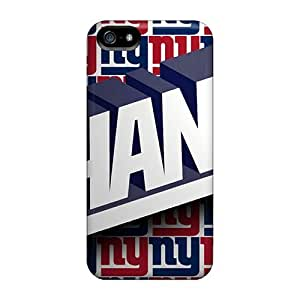 Shock-Absorbing Hard Cell-phone Cases For Iphone 5/5s With Custom Lifelike New York Giants Series KevinCormack