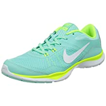 nike womens flex trainer 5 running trainers 724858 sneakers shoes (US 9, artisan teal white 300)