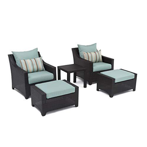 RST Brands OP-PECLB5-BLS-K Deco 5pc Club Chair & Ottoman Set – Bliss Review