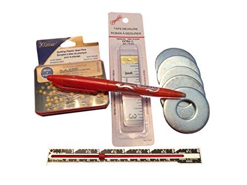 Klasse Sewing Kit Quilting and Craft Notions Bundle, supplies for sewing room - Klasse Kit