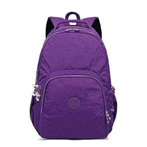 Sac purple Dos light Femme Dos À en pour Sac Bandoulière Sac Nylon À Sac Femme SHUANGJIAN Dos Féminin pour Adolescentes À À Femme Femme pour pour EH48fcSq