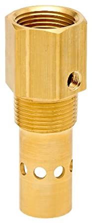 """Control Devices Brass In-Tank Check Valve, 3/8"""" FPT Inlet x 1/2"""" MPT Outlet"""