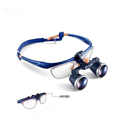 Zgood Portable 3.5X420mm Medical Binocular Galileo Frame Loupe Magnifier Glasses FD-503G by Zgood (Image #1)