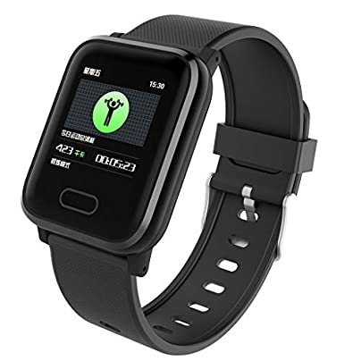 XNBZW Professional Fitness Waterproof Wristband Activity Tracker Heart Rate Monitor Bracelet Wristband for iOS Android Estimated Price £12.38 -