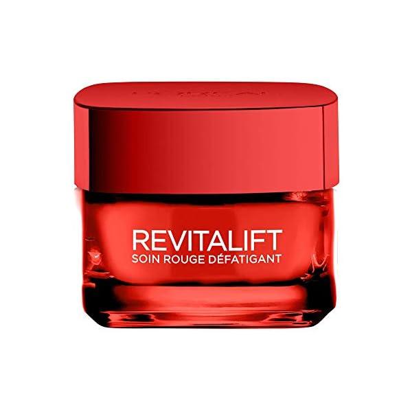 L'Oréal Paris – Revitalift – Soin Rouge Défatigant – Anti-Rides & Eclat – 50 mL