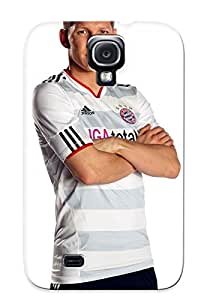 Special Exultantor Skin Case Cover For Galaxy S4, Popular Bastian Schweinsteiger Phone Case For New Year's Day's Gift