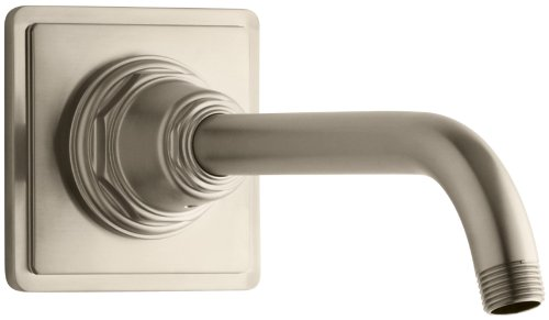 KOHLER K-13136-BV Pinstripe Showerarm and Flange, Vibrant Brushed - Tub Bv Pinstripe