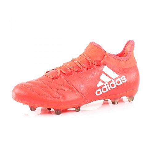 adidas Herren X 16.2 FG Leather Fußballschuhe rot