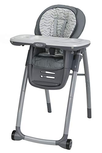 Graco Table2Table Premier Fold 7-in-1 Convertible High Chair, Landry, One - Grow High Chair Easy