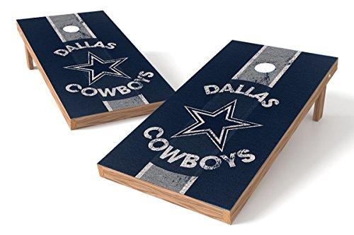 Wild Sports 2'x4' NFL Dallas Cowboys Cornhole Set - Heritage Design (Design Dallas)