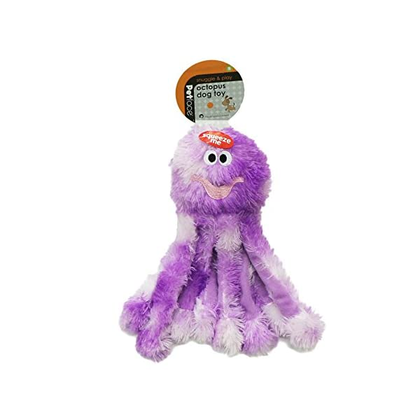 Petface Dog Toy, Small, Octopus 1