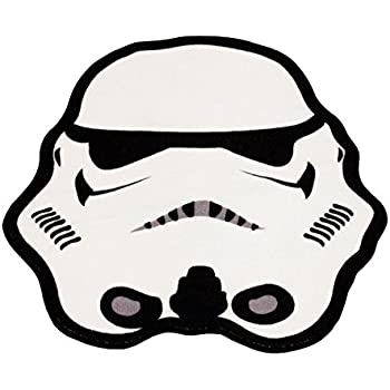 rug clipart black and white. character uk - star wars rug stormtrooper 79 x 74 cm clipart black and white