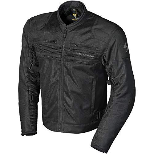 Scorpion Vortex Air Jacket (Large) (Black)