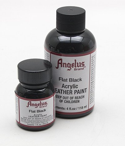 Angelus Leather Paint 4 Oz Black