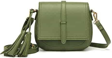 28dadbcba9b2 Shopping Silvers or Greens - Faux Leather - Crossbody Bags ...