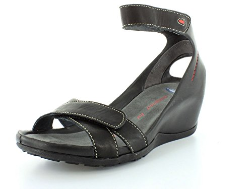 Wolky Sandalen 1176 Do 200 schwarz Leder