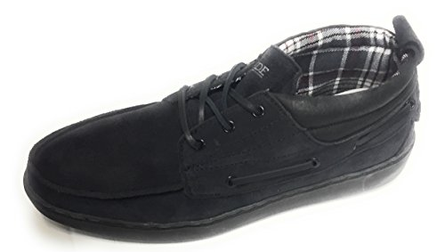 Hey Dude Walk Light Live Right Para Hombre Black Suede Lace-up Para Rimini Winter Carbon