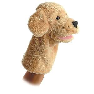 """10"""" garth puppet - 41gHpiNkdnL - Aurora World Garth Dog Plush Hand Puppet, 10″"""