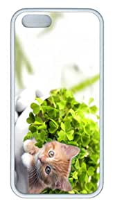 iPhone 5S Customized Unique Landscape Flowers Happy Saint Patricks Day 2012 New Fashion TPU White iPhone 5/5S Cases