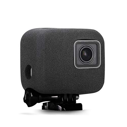 Taisioner Windslayer Cover Housing Frame Case for GoPro Hero 5/6 / 7 Black Video Noise Reduction
