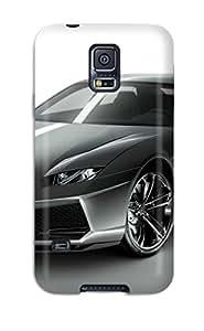 Durable Case For The Galaxy S5- Eco-friendly Retail Packaging(lamborghini Estoque Concept) 5110902K35950941