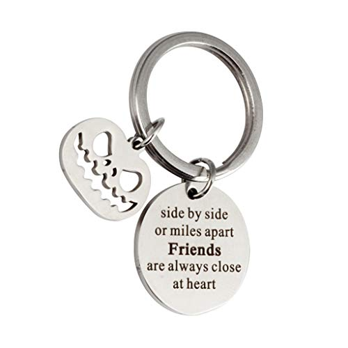 SMUOBT Best Friend Gifts Keychain - Perfect Friendship