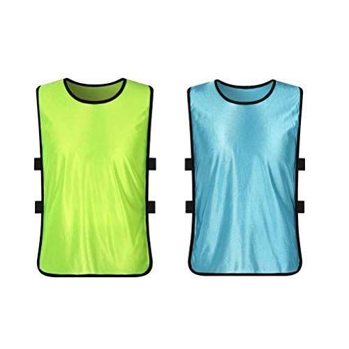 LIOOBO Kids Adults Sports Vest Scrimmage pinnies for Basketball Soccer - Pinnies Vests Vests Scrimmage