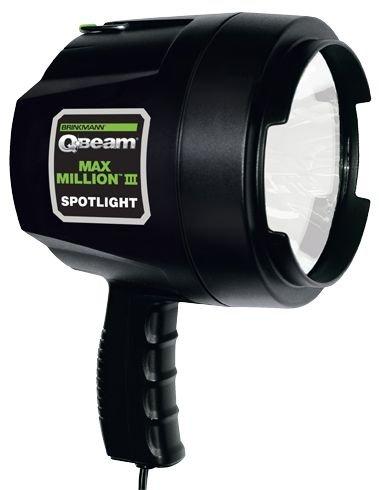 Brinkmann QBeam Spotlight Floodlight 1625 Lumens Max Million III 800-2301-W