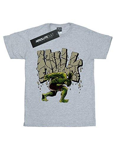 Marvel Rock Hulk Grey camiseta deportiva Man 8nr7Bf8