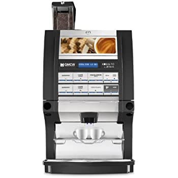 Grindmaster, Kobalto 1/3, Super-Automatic Espresso Brewer with Built in Coffee Bean Hopper and 3 Soluble Hoppers, Installation Included
