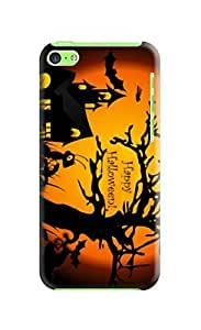 Custom New Style Halloween fashionable TPU Cellphone Protector Cover Case for iphone 5c by icecream design