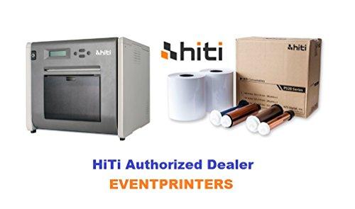 HiTi P525L Printer + 1 Box of 4x6 Media (1.000 Prints) + 3 Year Warranty by HiTi