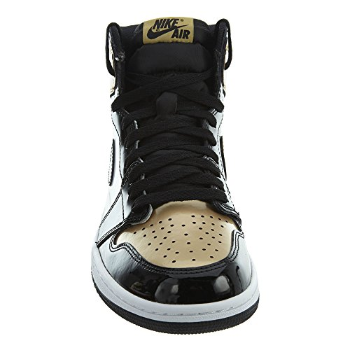 OG Air 1 Black Black Metallic High Gold Schuhe Retro NRG Jordan Sneaker FIBwrI