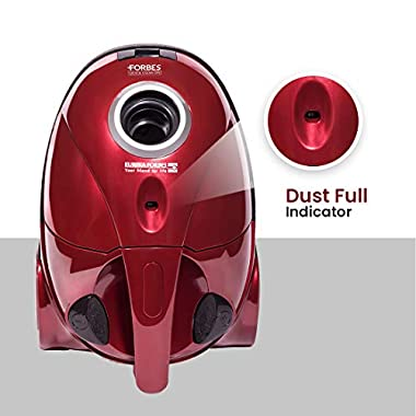 Eureka Forbes Quick Clean DX 1200-Watt Vacuum Cleaner for Home with Free Reusable dust Bag (Red) 14