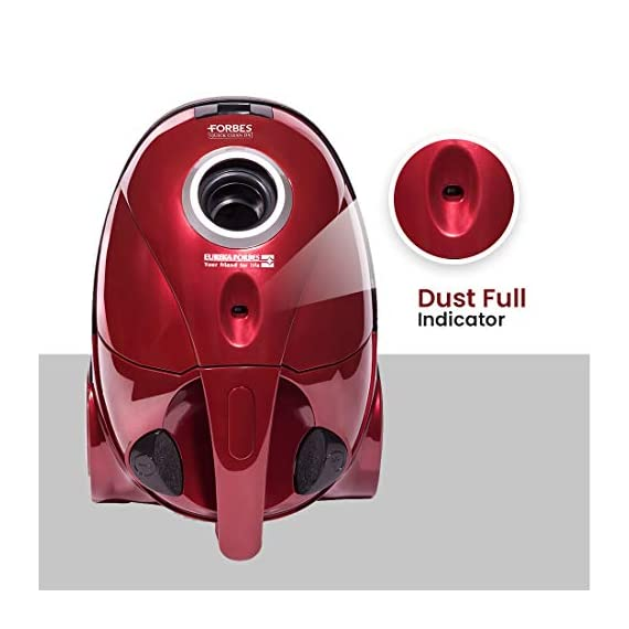 Eureka Forbes Quick Clean DX 1200-Watt Vacuum Cleaner for Home with Free Reusable dust Bag (Red) 7