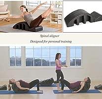 Pilates Spine Supporter Yoga cuña Spine Corrector Alivio del ...