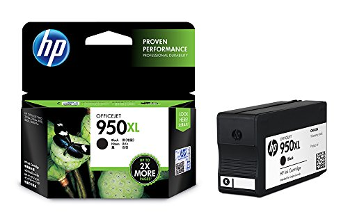 HP 950XL High Yield Black Original Ink Cartridge(CN045AA)