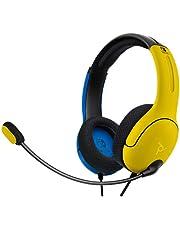 PDP Hoofdtelefoon LVL40 Stereo Nintendo Switch Geel & Blauw [Amazon Exclusive]