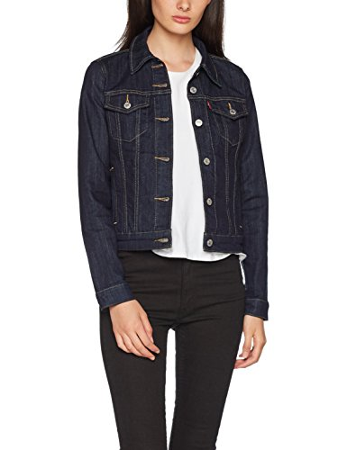 Blu Jeans In Rinse 13 Original Donna Levi's even Giacca Trucker HxYawfg