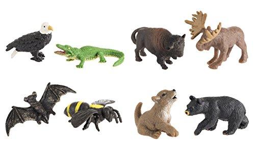 Safari Ltd. Good Luck Mini: Wild American Fun